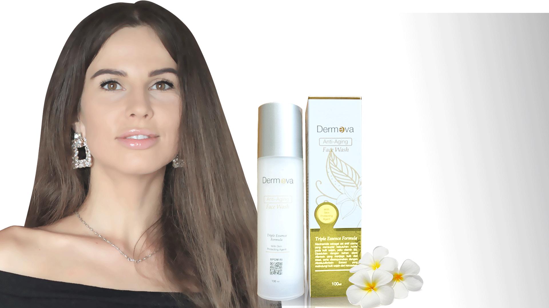 Dermeva Anti-Aging Face Wash banner